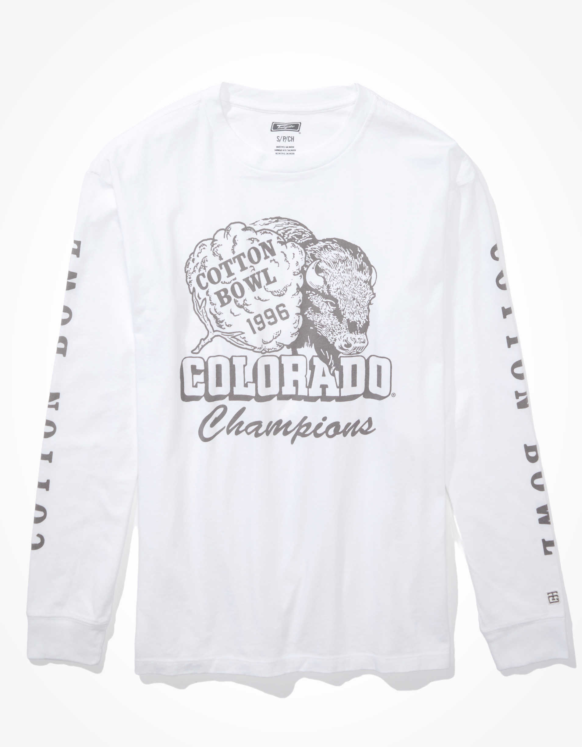 Tailgate Women's Colorado Oversized Long-Sleeve T-Shirt