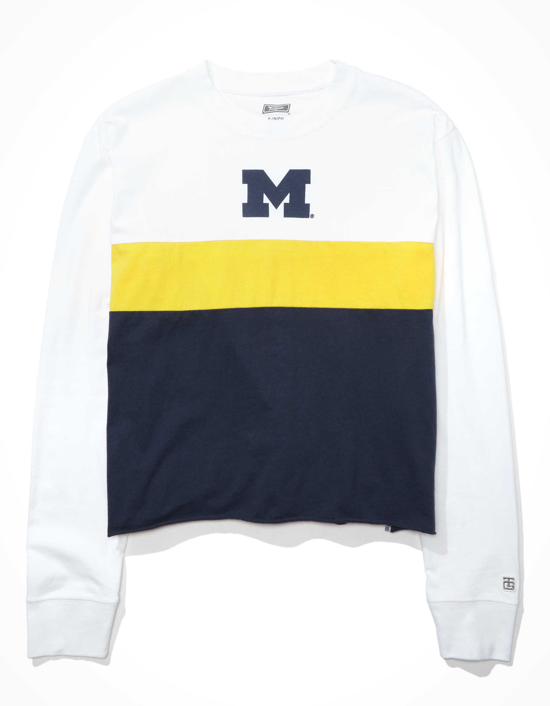 Tailgate Women's Michigan Wolverines Long-Sleeve T-Shirt