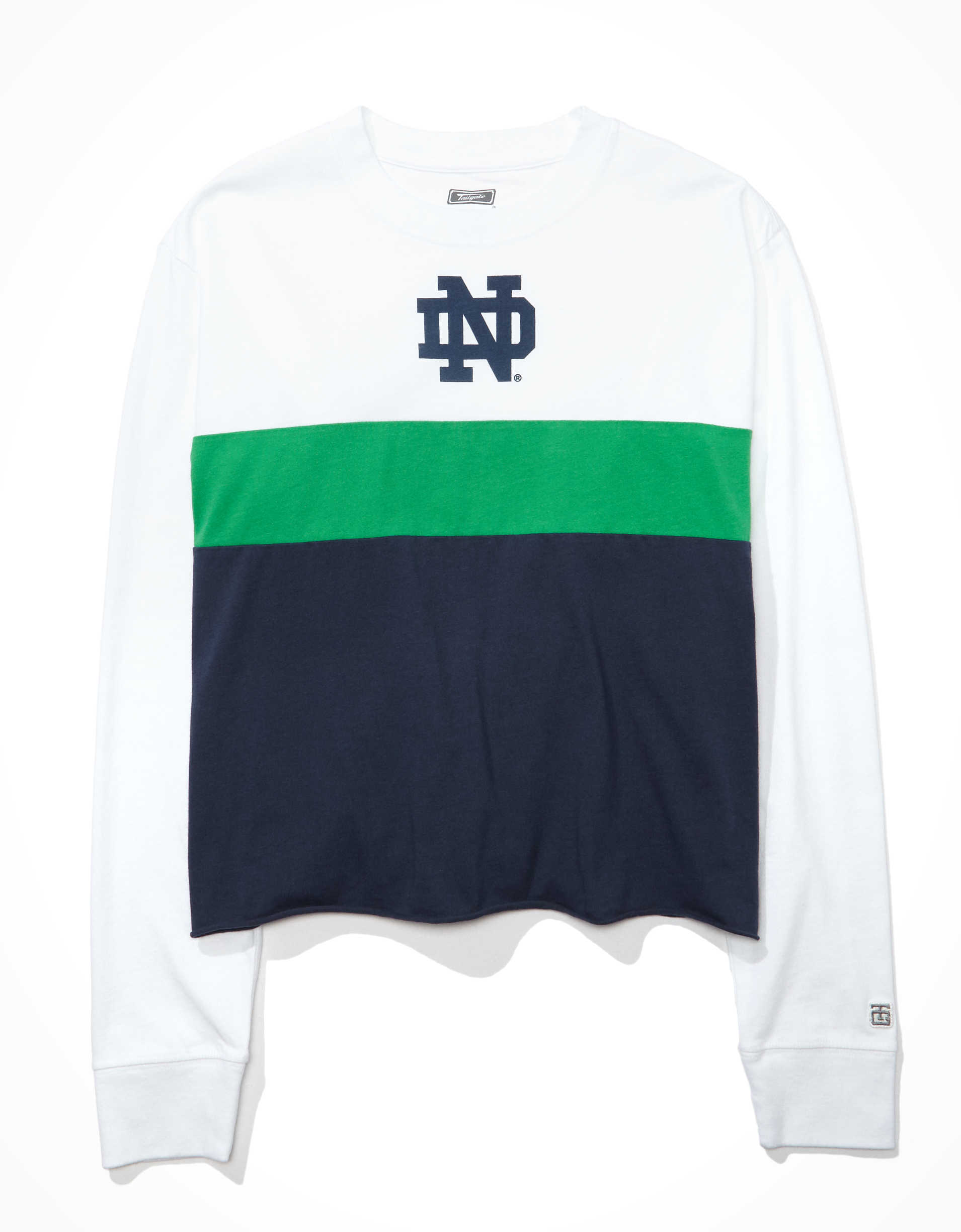 Tailgate Women's Notre Dame Long-Sleeve T-Shirt