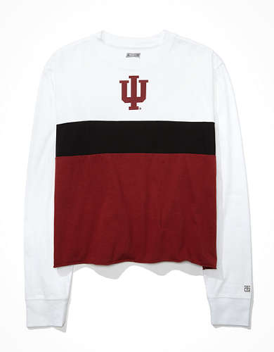 Tailgate Women's Indiana Hoosiers Long-Sleeve T-Shirt
