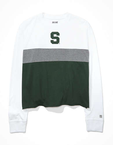 Tailgate Women's MSU Spartans Long-Sleeve T-Shirt