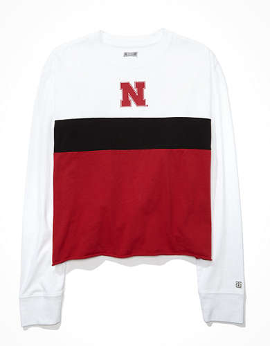 Tailgate Women's Nebraska Cornhuskers Long-Sleeve T-Shirt