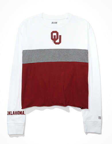 Tailgate Women's Oklahoma Sooners Long-Sleeve T-Shirt