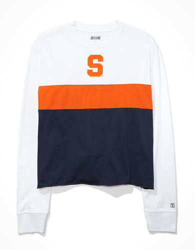 Tailgate Women's Syracuse Orange Long-Sleeve T-Shirt