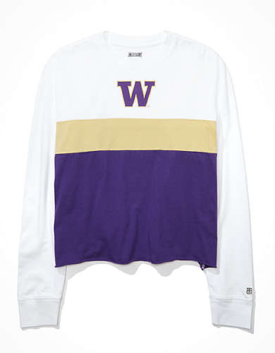 Tailgate Women's Washington Huskies Long-Sleeve T-Shirt