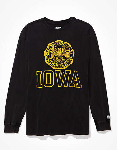 Tailgate Women's Iowa Hawkeyes Long-Sleeve T-Shirt