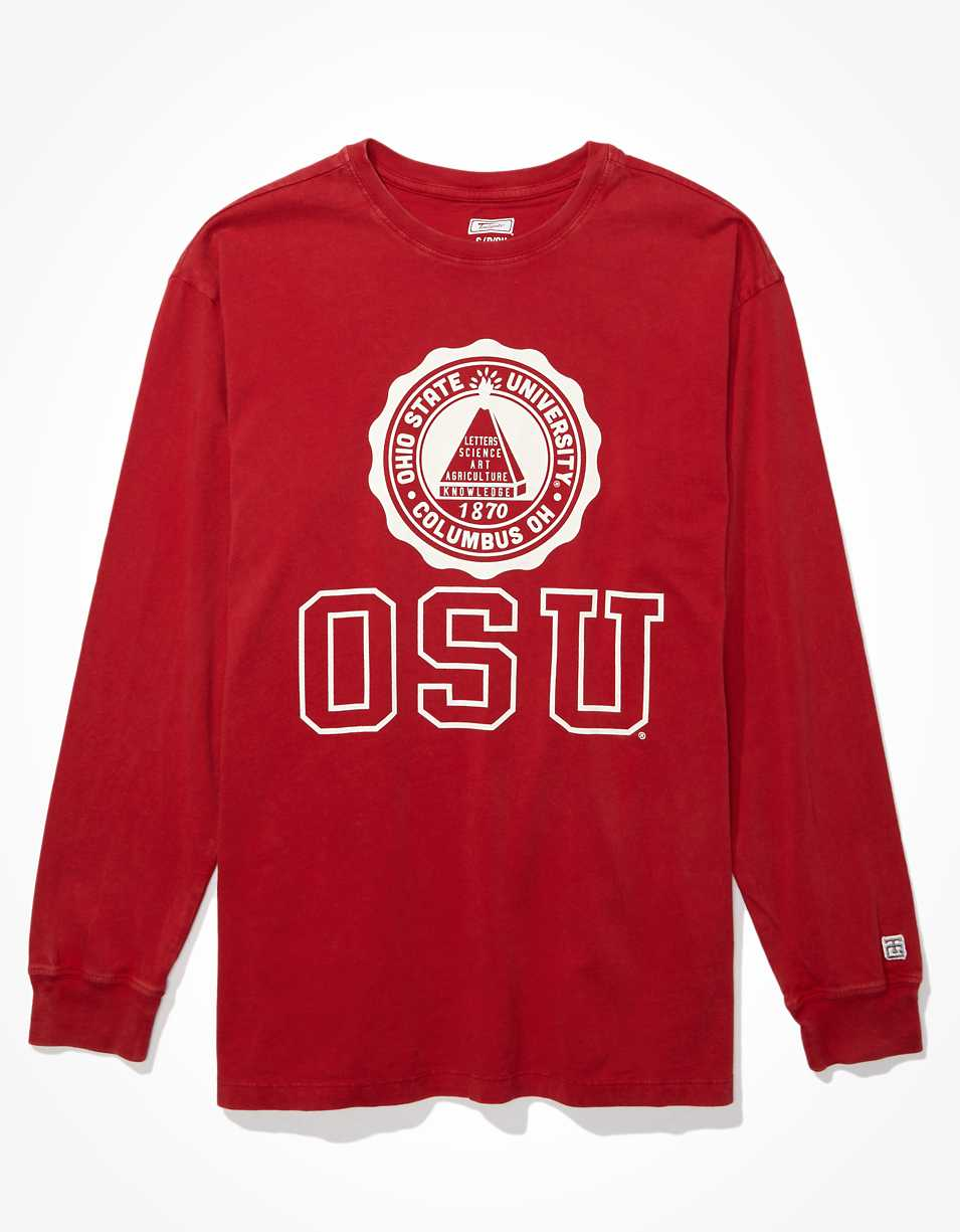 Tailgate Women's OSU Buckeyes Long-Sleeve T-Shirt