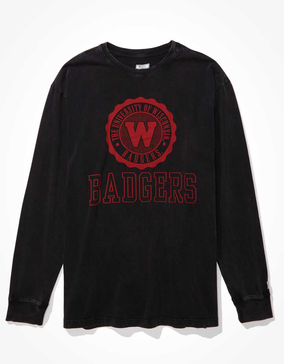 Tailgate Women's Wisconsin Badgers Long-Sleeve T-Shirt