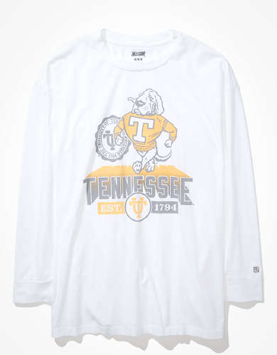 Tailgate Women's Tennessee Vols Oversized Long-Sleeve T-Shirt