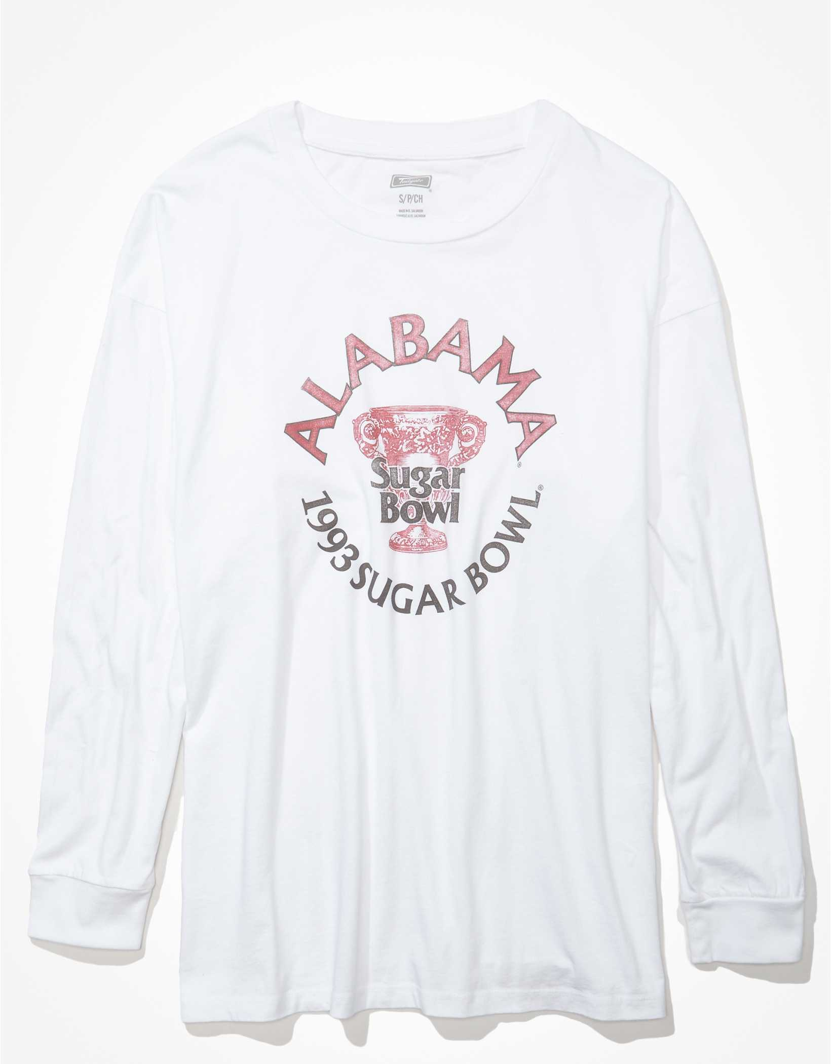 Tailgate Women's Alabama Crimson Tide Oversized Graphic T-Shirt