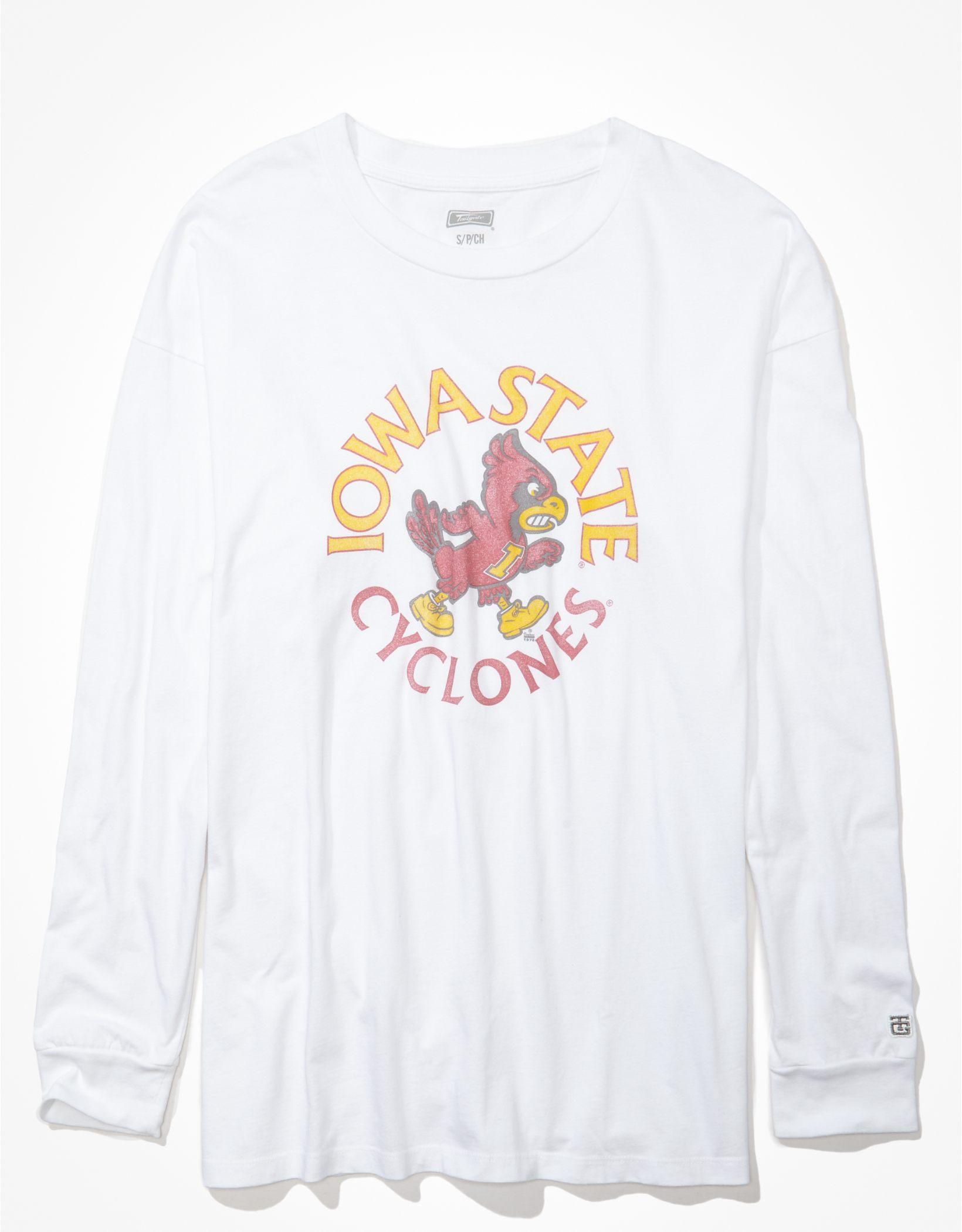 Tailgate Women's Iowa State Cyclones Oversized Graphic T-Shirt