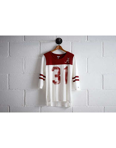 Tailgate Women's Alabama 3/4 Sleeve Jersey -