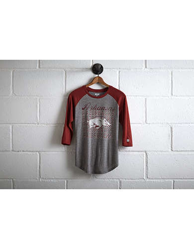 Tailgate Women's Arkansas Razorbacks Raglan -