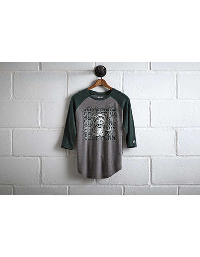 Tailgate Michigan State Raglan -