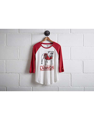 Tailgate Women's Georgia Baseball Shirt - Free Returns