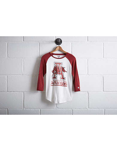 Tailgate Women's Arkansas Baseball Shirt - Free Returns