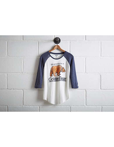 Tailgate Women's California Baseball Shirt -