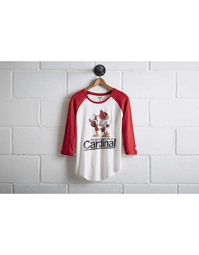 Tailgate Women's Lousiville Cardinals Baseball Shirt - Free Returns
