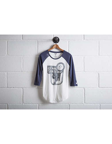 Tailgate Women's Penn State Baseball Shirt - Free Returns