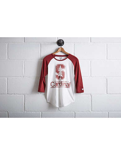 Tailgate Women's Stanford Cardinal Baseball Shirt - Free Returns