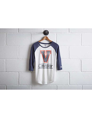 Tailgate Women's UVA Cavaliers Baseball Shirt - Free returns