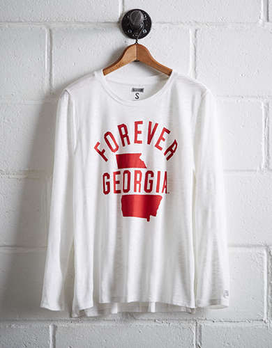Tailgate Women's Georgia Long Sleeve T-Shirt -