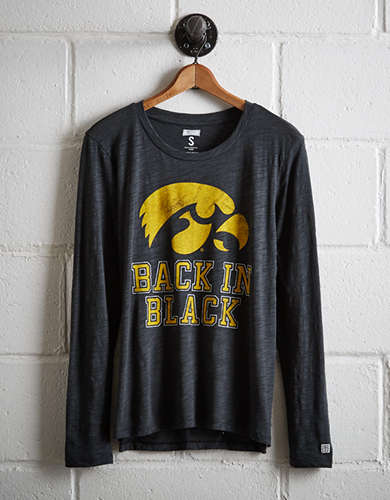 Tailgate Women's Iowa Long Sleeve T-Shirt - Free Returns