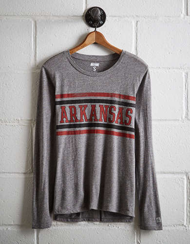 Tailgate Women's Arkansas Long Sleeve T-Shirt - Free Returns