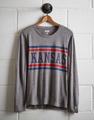 Tailgate Women's Kansas Long Sleeve T-Shirt -