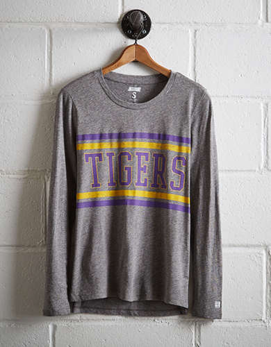Tailgate Women's LSU Tigers Long Sleeve T-Shirt - Free Returns