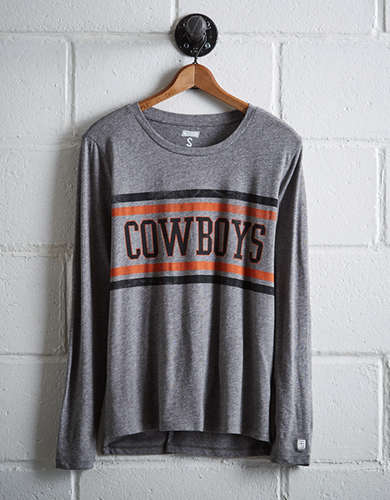 Tailgate Women's Oklahoma State Long Sleeve T-Shirt - Free Returns