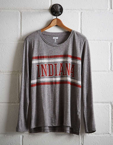 Tailgate Women's Indiana Long Sleeve T-Shirt -