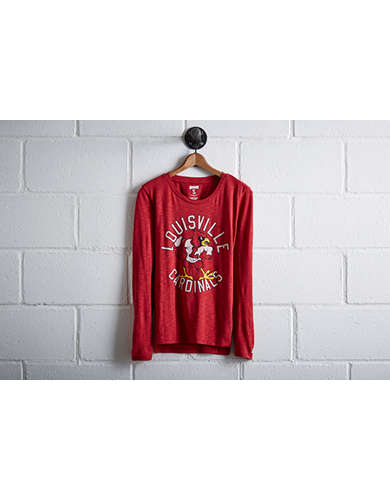 Tailgate Women's Louisville Long Sleeve T-Shirt - Free Returns