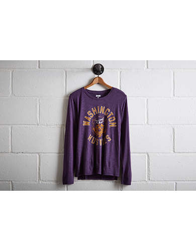 Tailgate Women's Washington Long Sleeve T-Shirt - Free Returns