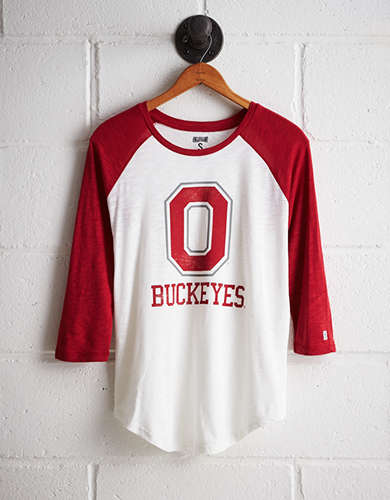 Tailgate Women's Ohio State Baseball Shirt - Buy One Get One 50% Off