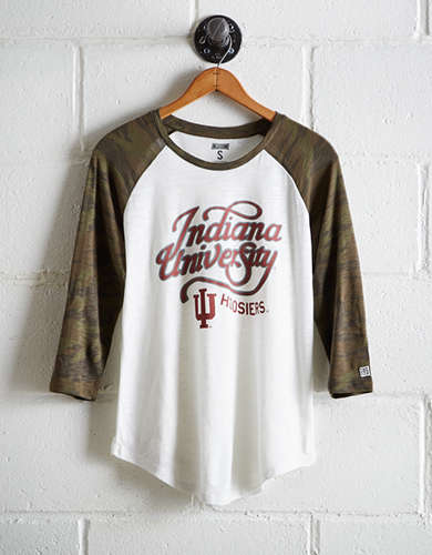 Tailgate Women's Indiana Baseball Shirt - Free Returns
