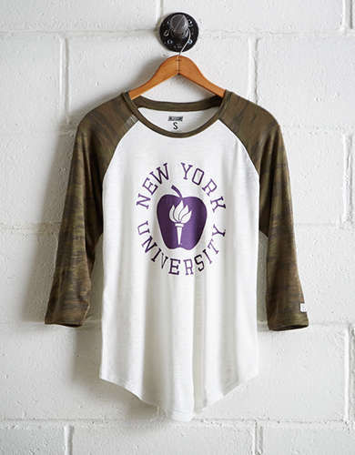 Tailgate Women's NYU Baseball Shirt - Free returns