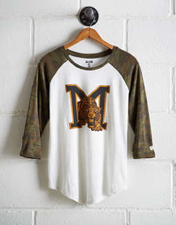 Tailgate Women's Missouri Baseball Shirt