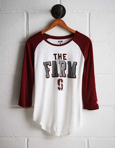 Tailgate Women's Stanford Baseball Shirt - Buy One Get One 50% Off