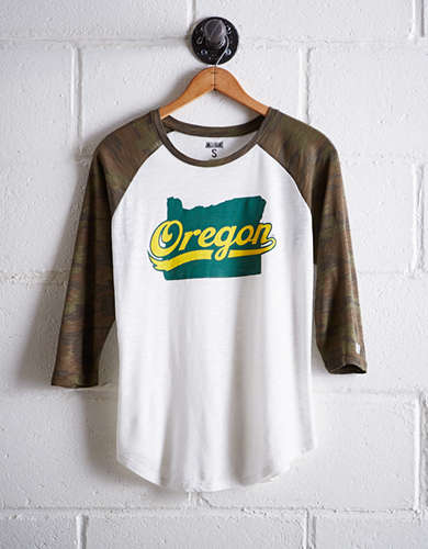 Tailgate Women's Oregon Baseball Shirt - Free Returns