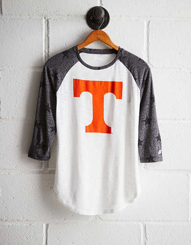 Tailgate Women's Tennessee Star Print Baseball Shirt - Buy One Get One 50% Off