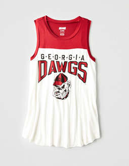 Tailgate Women's Georgia Bulldogs Color Block Tank