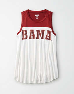 Tailgate Women's Alabama Color Block Tank