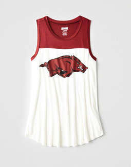 Tailgate Women's Arkansas Color Block Tank