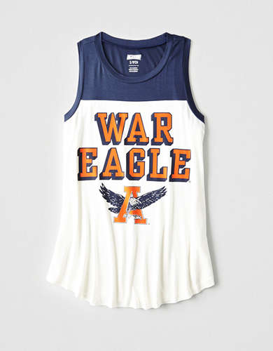 Tailgate Women's Auburn Color Block Tank