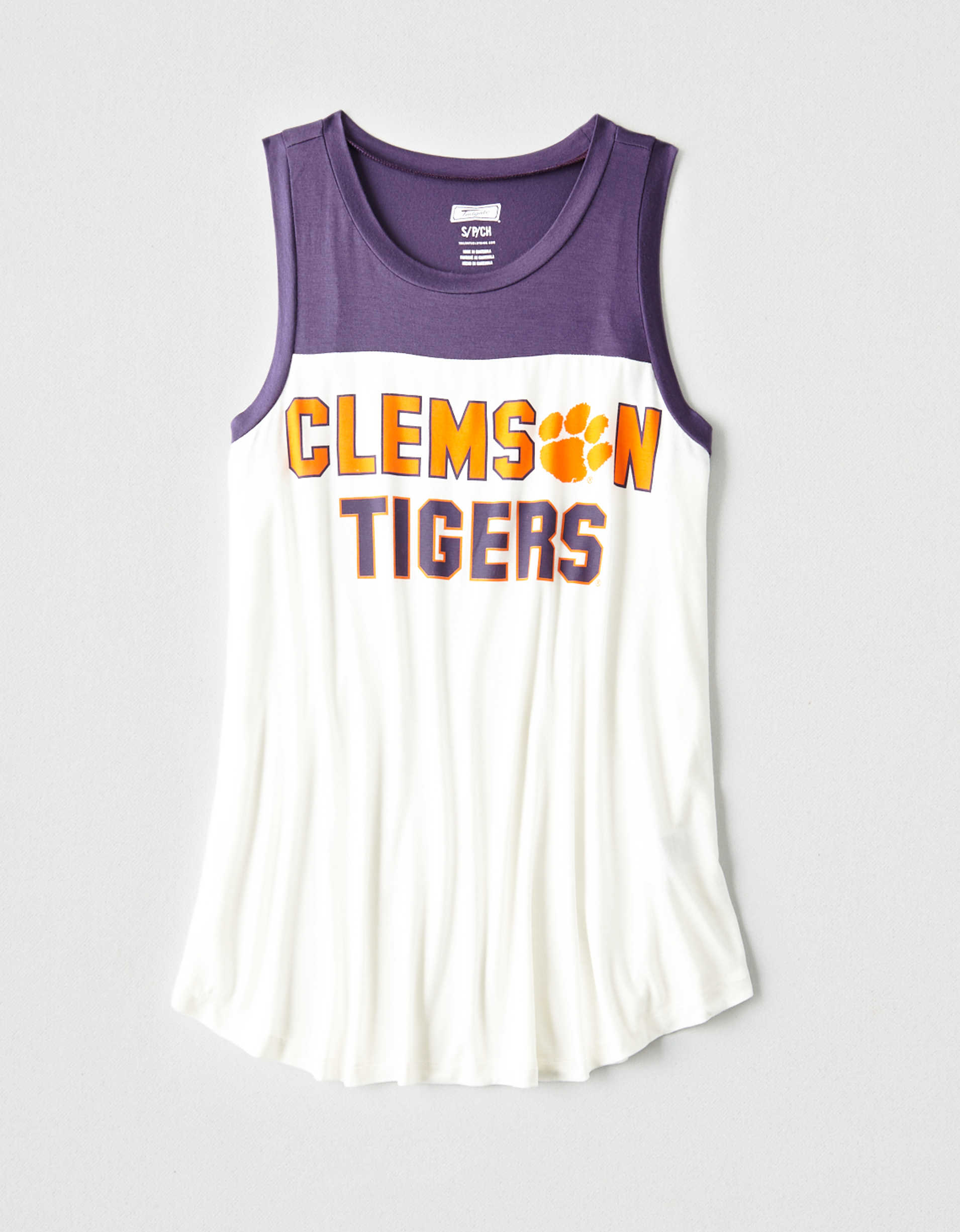 Tailgate Women's Clemson Tigers Color Block Tank