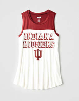 Tailgate Women's Indiana Color Block Tank