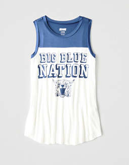 Tailgate Women's Kentucky Color Block Tank