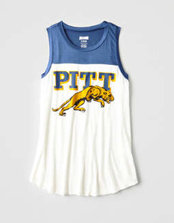 Tailgate Women's Pitt Panthers Color Block Tank