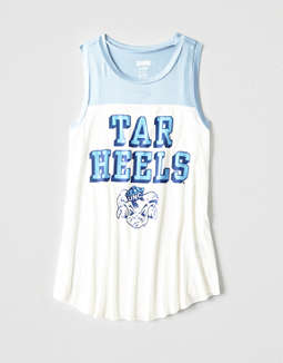 Tailgate Women's UNC Color Block Tank